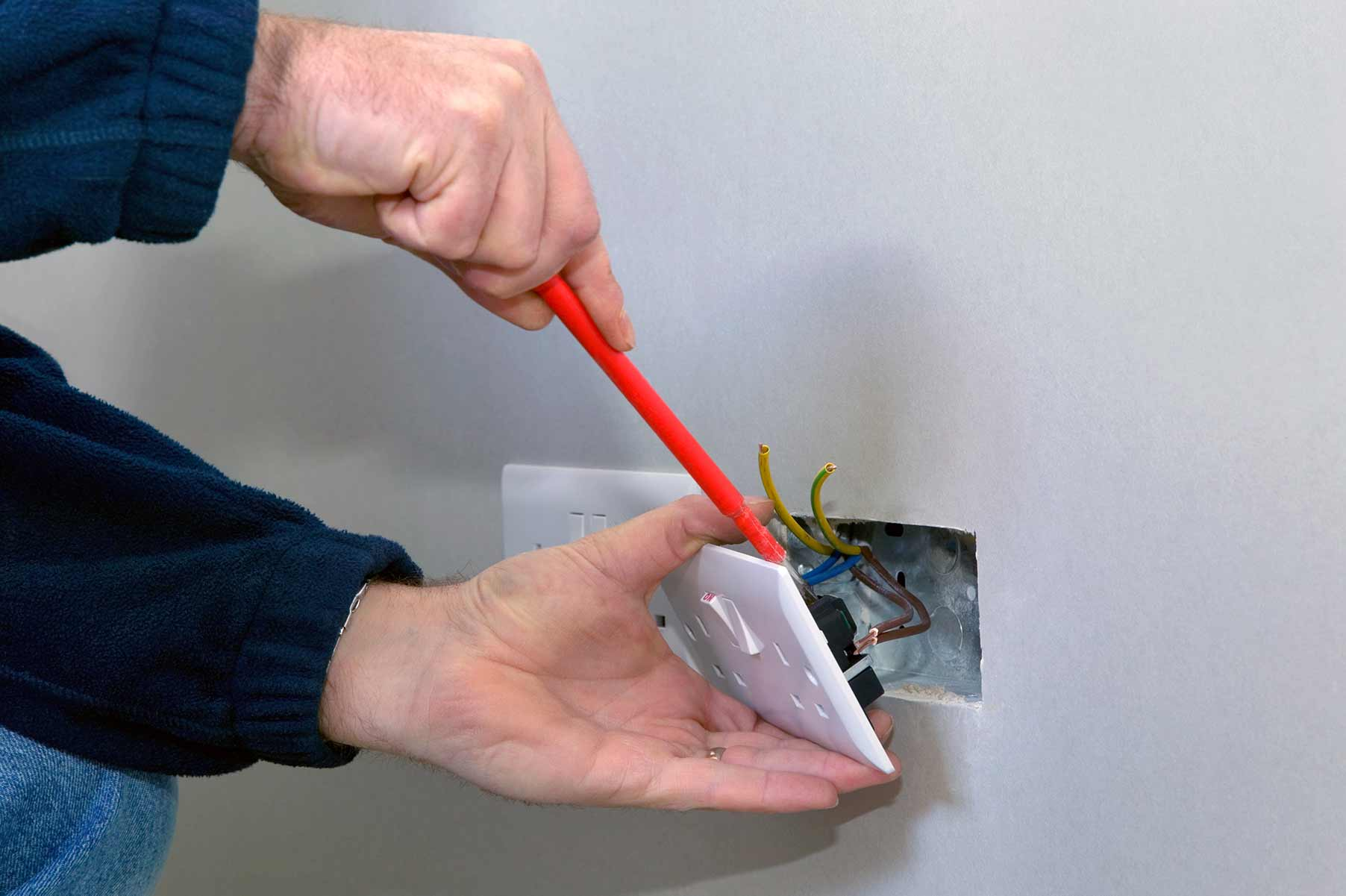 Our electricians can install plug sockets for domestic and commercial proeprties in Archway and the local area.